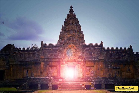 phanom rung light phenomenon (buriram province)