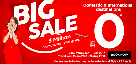 air asia big sale: cheap thailand domestic flights tickets