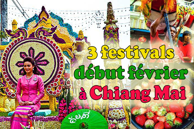 chiang mai : 1 week-end, 3 festivals