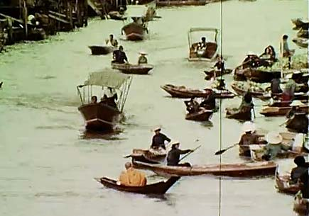 Khlongs Bangkok 1970