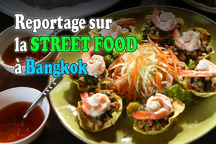street food à bangkok, reportage tv