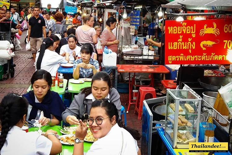 Chinatown street food Bangkok