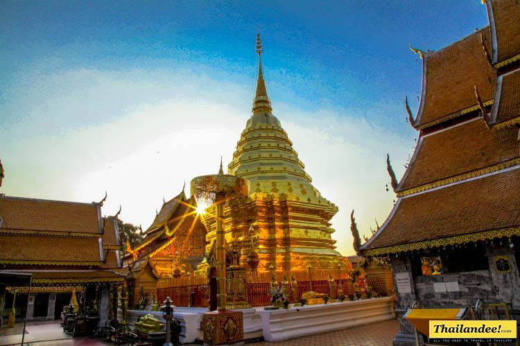 temple doi suthep matin