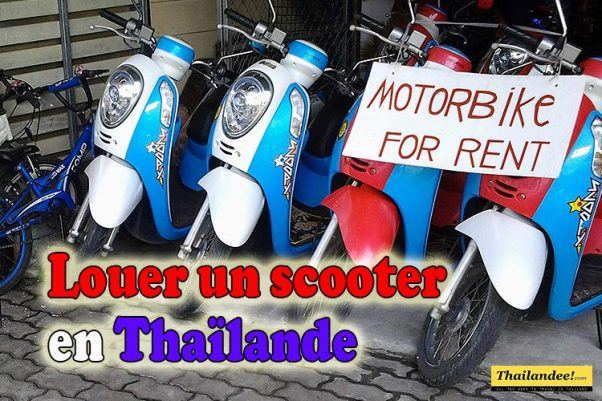louer scooter thailande