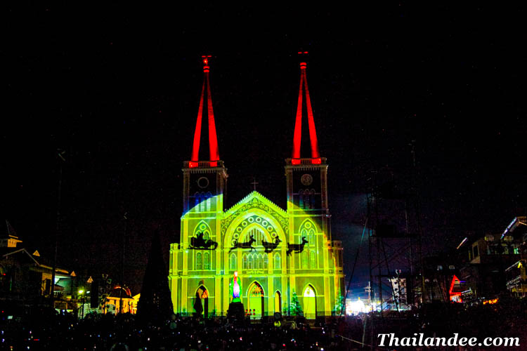 christmas festival in thailand