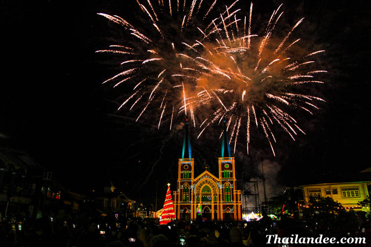 miracle christmas festival thailand