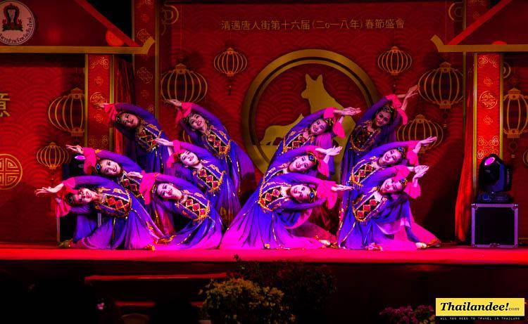 danses chinois nouvel an chiang mai