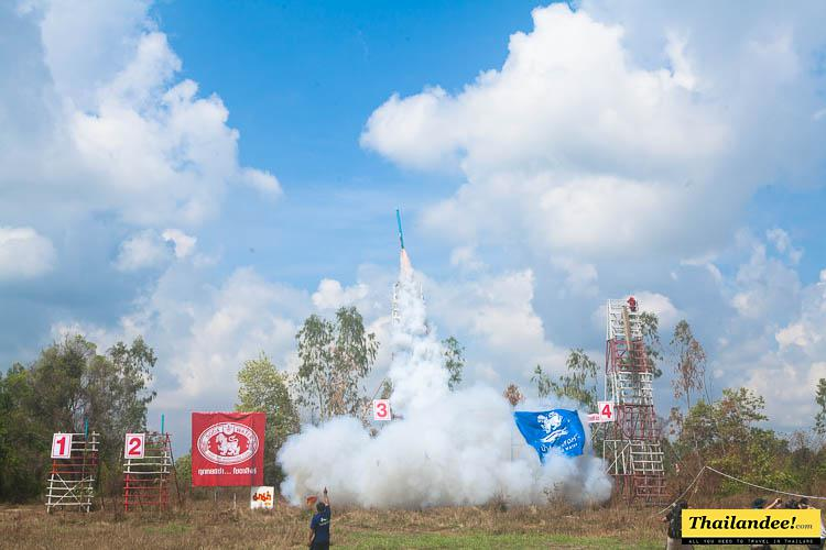 rocket festivals in thailand