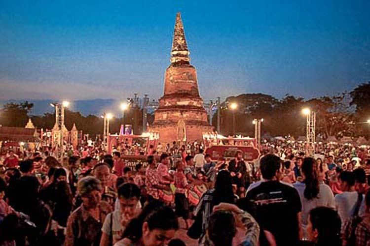 the glorious of ayutthaya fair