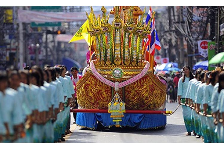 surat thani chak phra festival and boat races