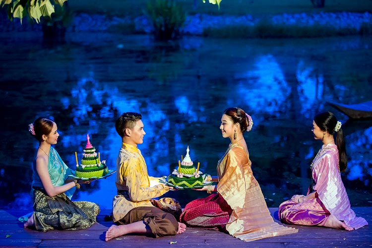 grand loy krathong ceremony