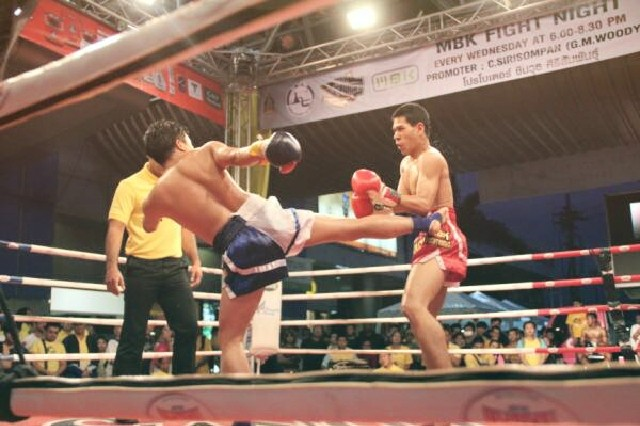 muay thai mbk fight night