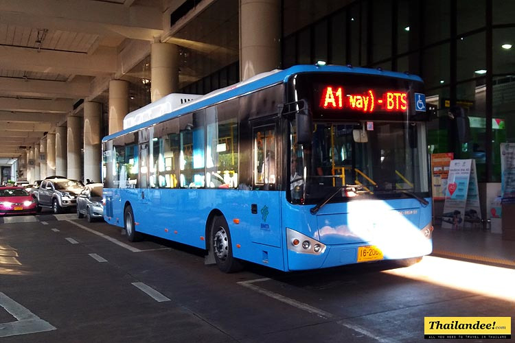 bus suvarnabhumi don mueang