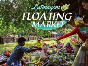Khlong Lat Mayom Floating Market Tour: Food & Paddle Boat Ride Bangkok