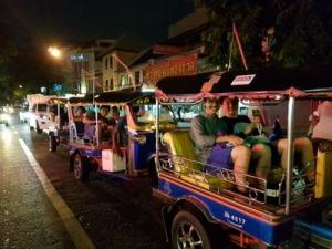 Bangkok Tuk Tuk Night Tour: Food, Markets & Temples Bangkok