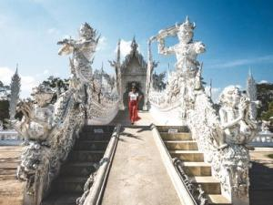 Blue Temple, White Temple, Black House, Lotus Temple & Best Khao Soi  Chiang Rai
