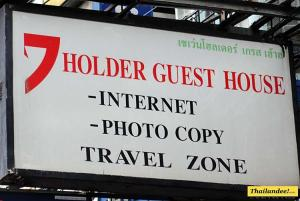 7 holder guesthouse