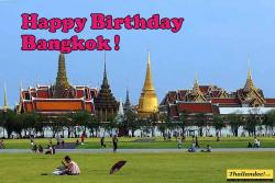 happy birthday bangkok