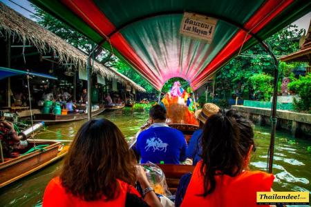 The klongs Bangkok