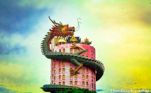 Wat Samphran (Dragon Temple)